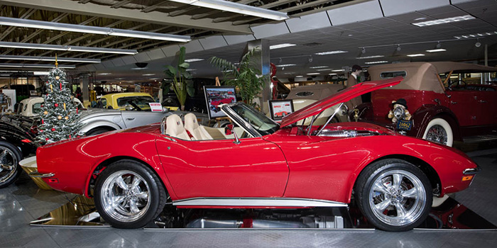 The Tallahassee Automobile Museum added a new ride to its collection – an award-winning, custom 1972 Chevrolet Corvette Stingray.